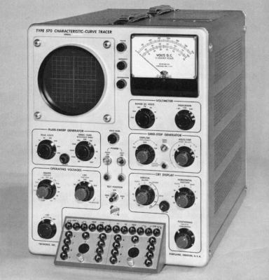 Tektronix model 570 tester